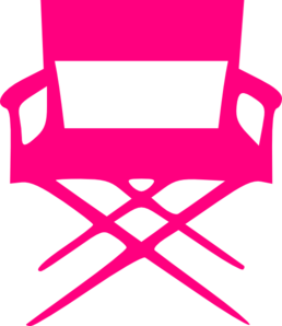 Director S Chair Pink Clip Art