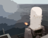 Phalanx Mk-15 Close In Weapons Systems (ciws) Fires A High-speed Computer Controlled, Radar Guided, 20 Mm Gatling Gun Clip Art