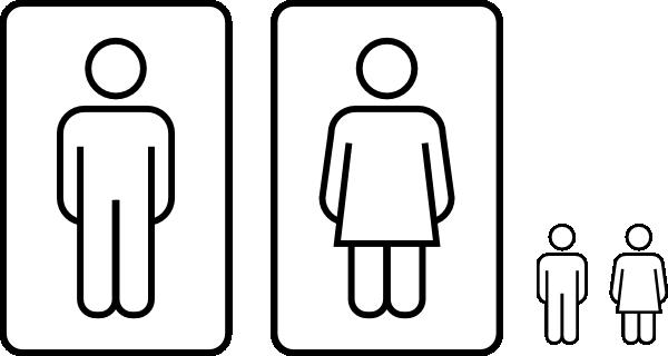 clipart wc uomini - photo #40