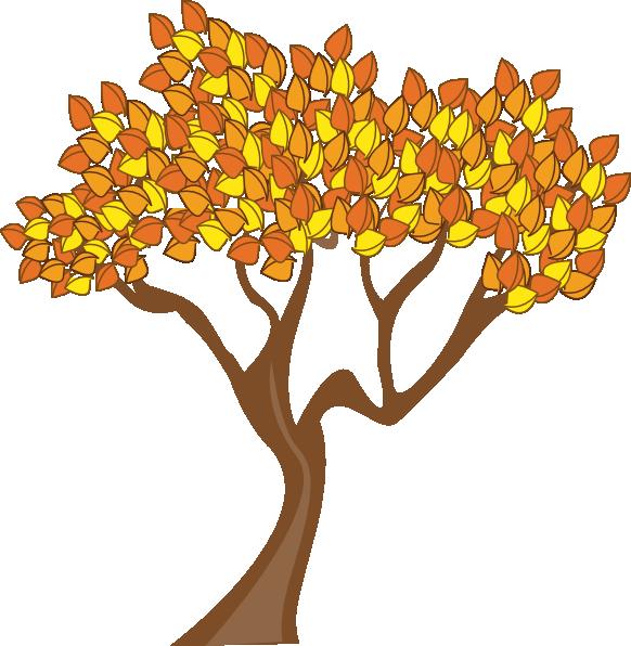 autumn tree clipart - photo #44