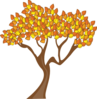 Tree In Fall Clip Art