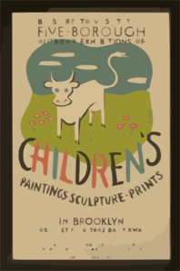 Be Sure To Visit The Five-borough Outdoor Exhibitions Of Children S Paintings, Sculpture, Prints, In Brooklyn  / Herzog. Clip Art