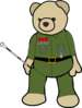 Marshal Teddy Clip Art