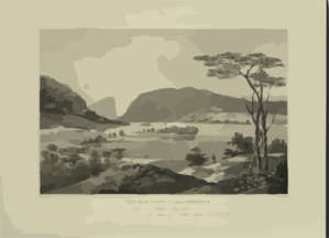 View From Fishkill Looking To West Point  / Painted By W. G. Wall ; Engraved By I. [i.e. John] Hill. Clip Art