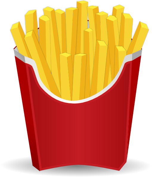 Animated french fries - photo#1