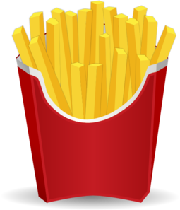 french fries clip art at clker com vector clip art online royalty rh clker com  french fry clipart black and white