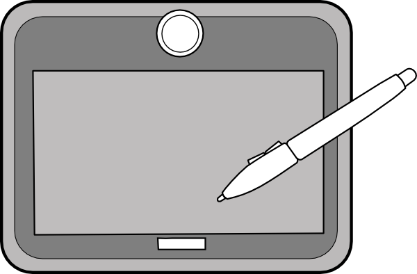 Tablet1 Clip Art at Clker.com - vector clip art online ...
