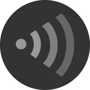Wifi Orange Right Clip Art
