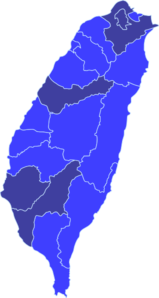 Map Of Taiwan Clip Art