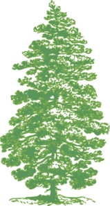 Green Pine Tree Clip Art