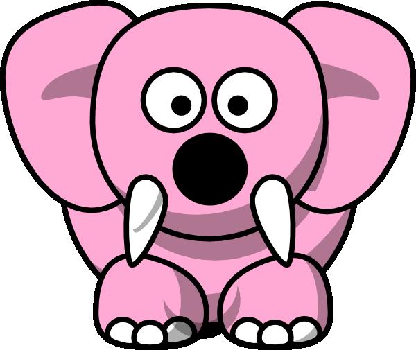 clip art pink elephant - photo #48