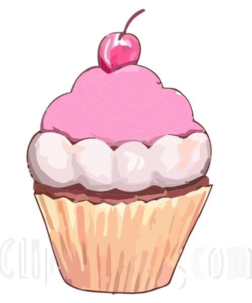 Cupcake Animated Images : Cupcake Sl Clip Art at Clker.com - vector clip art online ...