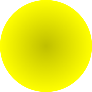 Yellow Ball Clip Art