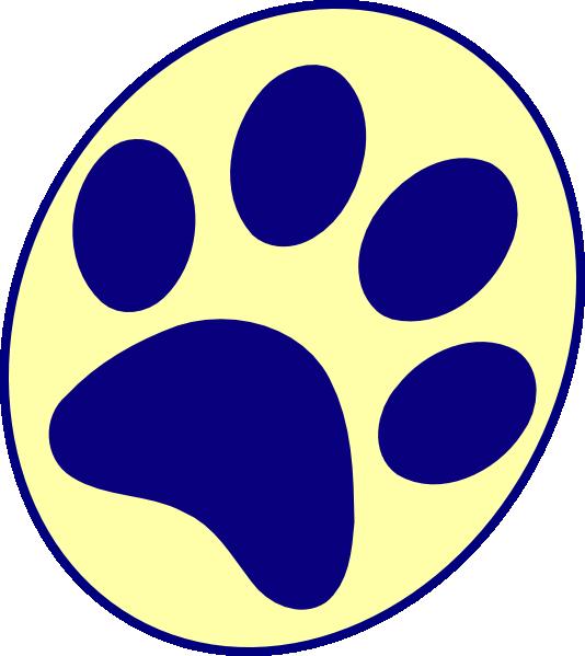 pitt panther paw print clip art at clker com vector clip art rh clker com  red panther paw print clip art