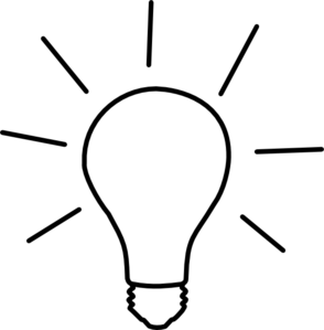 Idea Light Bulb Clip Art