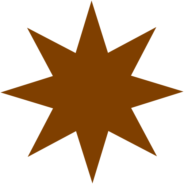 Bronze Star Clip Art at Clker.com - vector clip art online, royalty ...