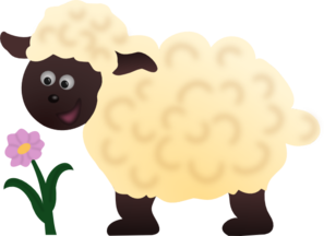 Perfect Sheep Clip Art