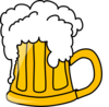 Beer.flowing Clip Art
