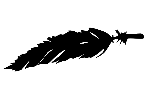 Feather Logo Clip Art at Clker.com - vector clip art online, royalty ...