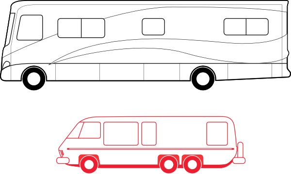 motorhome coloring pages - photo#34