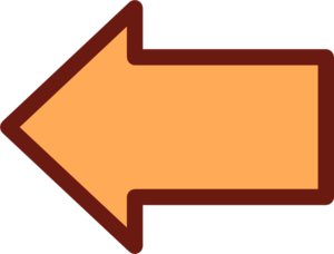 Orange Arrow Back Clip Art