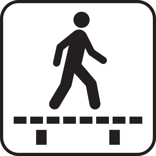 Walk Sign Clip Art at Clker.com - vector clip art online ...