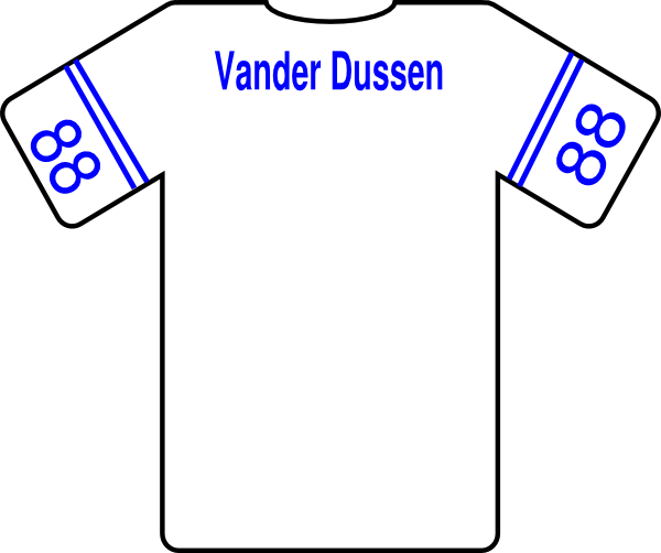 football jersey clipart