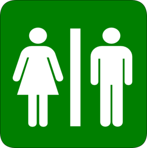 Toilet Green Clip Art