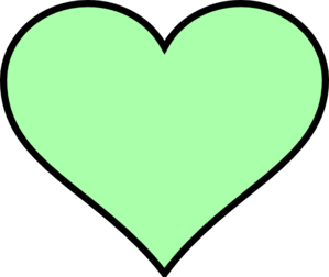 Bigger Green Heart Clip Art