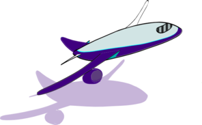 Airplane Taking Off Clip Art