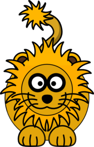 Golden Lion Clip Art