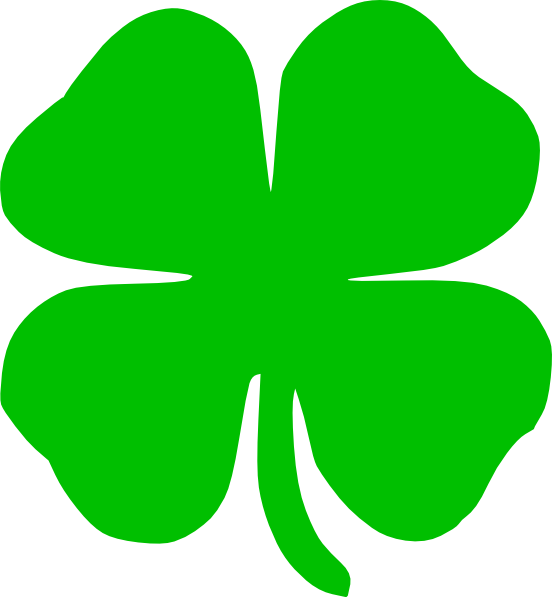 Green Shamrock Clip Art at Clker.com - vector clip art online, royalty ...