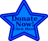 Blue Donate Now2 Clip Art
