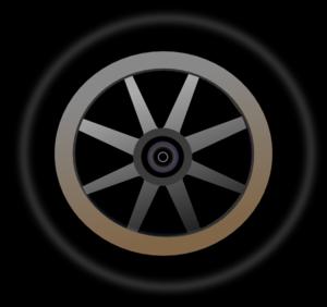 Wheel 4 Clip Art