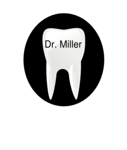 Tooth Name Tag2 Clip Art