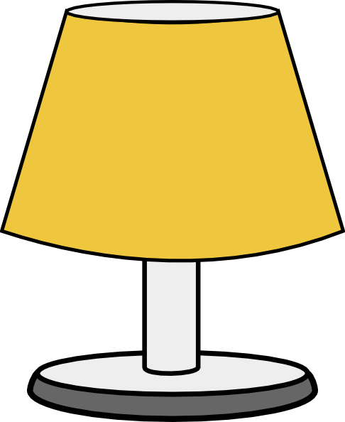Royalty Free Desk Lamp Clip Art Vector Images: Lamp Clip Art At Clker.com