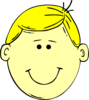 Blond Hair Boy Clip Art
