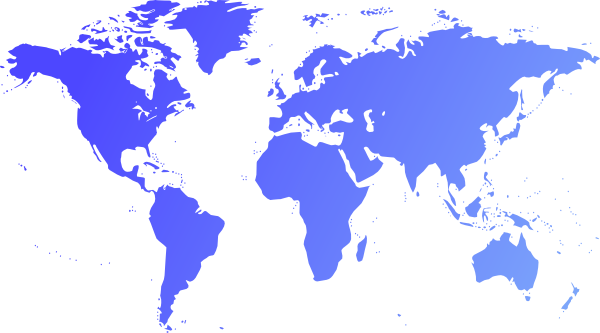 Globe Map Blue Clip Art At Clkercom Vector Clip Art Online - Map of globe