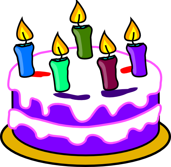 Birthday Cake Pictures Of Cartoon : Birthday Cake Clip Art at Clker.com - vector clip art ...