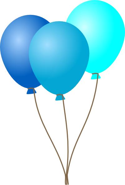 emmas blue balloons clip art at clker com vector clip art online rh clker com balloons clip art transparent background balloons clip art transparent background