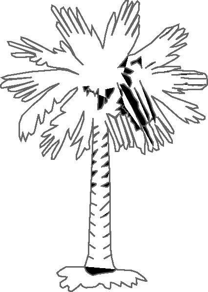 Palm Tree Clip Art at Clker