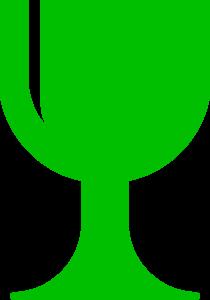 Green Chalice Clip Art at Clker.com - vector clip art online, royalty ...