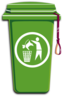 Njoynjersey Mini-car Game Trashcan Icon Clip Art