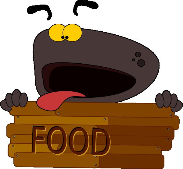 Hungry Dog Character Clip Art at Clker.com - vector clip ...
