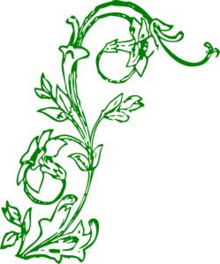 Flowering Vine Clip Art