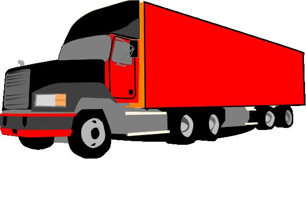 Truck 18 Wheeler Trucker Clip Art at Clker.com - vector clip art ...