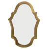 Lola Derek Espejo Ovalado Oro Antiguo Clip Art