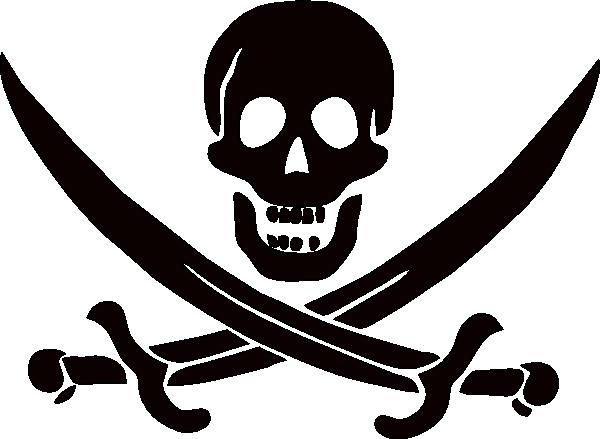 jolly roger clip art at clker com vector clip art online royalty rh clker com jolly roger clipart Jolly Roger Logo