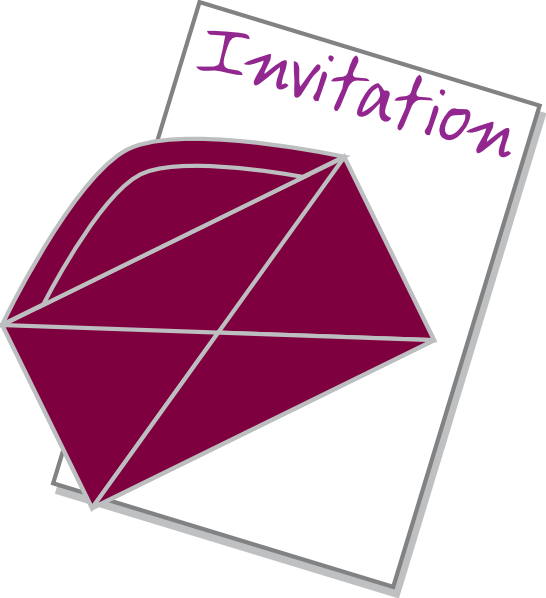 Invitation clip art at clker vector clip art online royalty download this image as stopboris Image collections