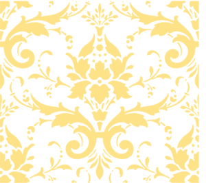 Faint Butter Damask Clip Art